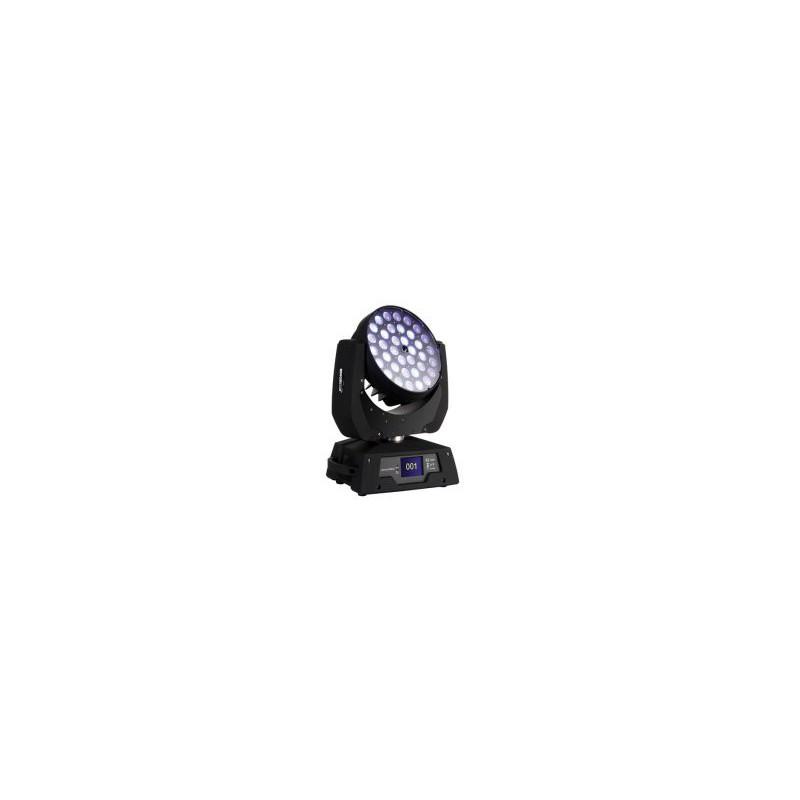 Cabeza Móvil Wash Zoom - 36x LED RGBW DE 10W
